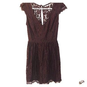 Urban Outfitters lace skater dress